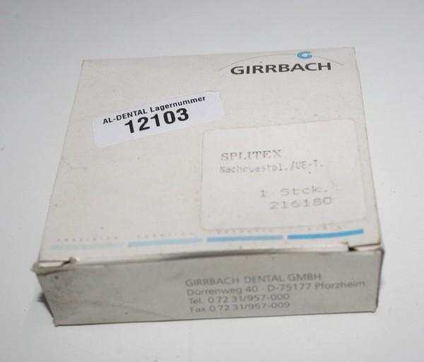 GIRRBACH Bicast-Nachrüstplatte für Übertragungstisch # 12103