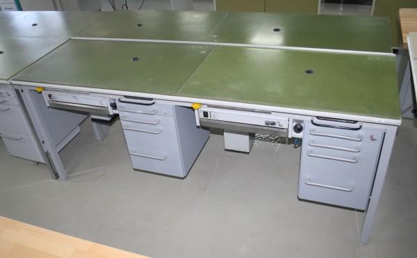 KaVo 2er Arbeitstisch / Labortisch / Arbeitsblock # 9262