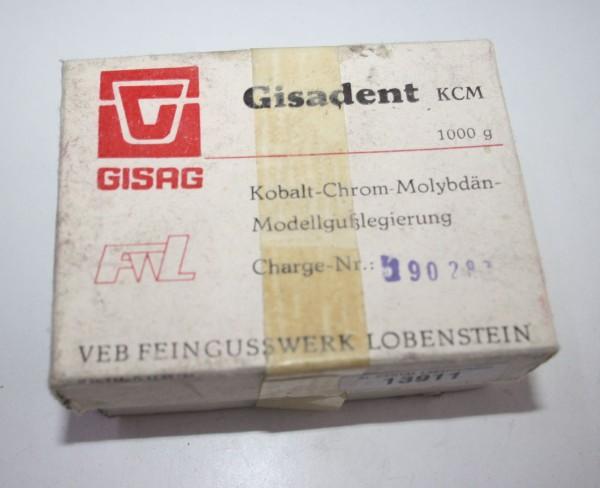 Gisadent KCM Kobalt- Chrom- Molybdän- Modellgußlegierung # 13911
