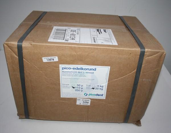 picodent pico-edelkorund Aluminiumoxid - 20 kg # 13978