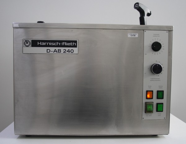 Harnisch + Rieth Ausbrühgerät Typ D-AB 240 # 13159
