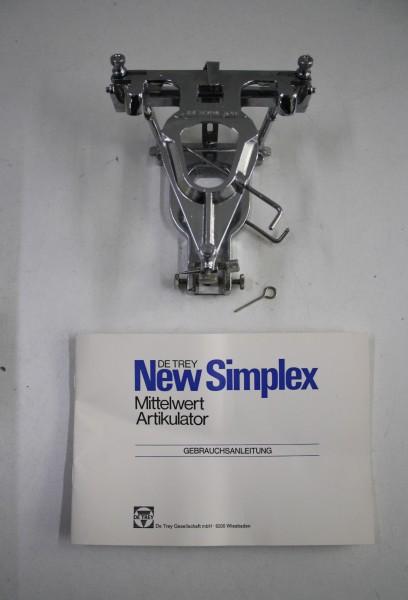 DeTrey Artikulator Typ Simplex - OVP # 7944