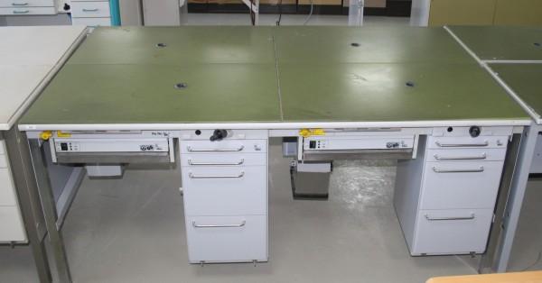 KaVo 2er Arbeitstisch / Labortisch / Arbeitsblock # 9260