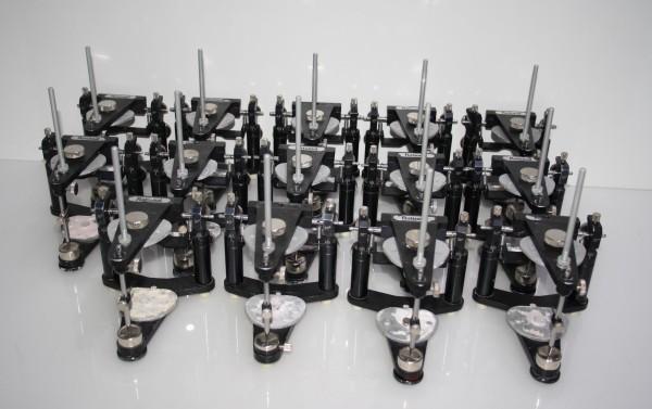 14 x Mittelwertartikulator / Artikulator Dentsply DeTrey Typ Rational