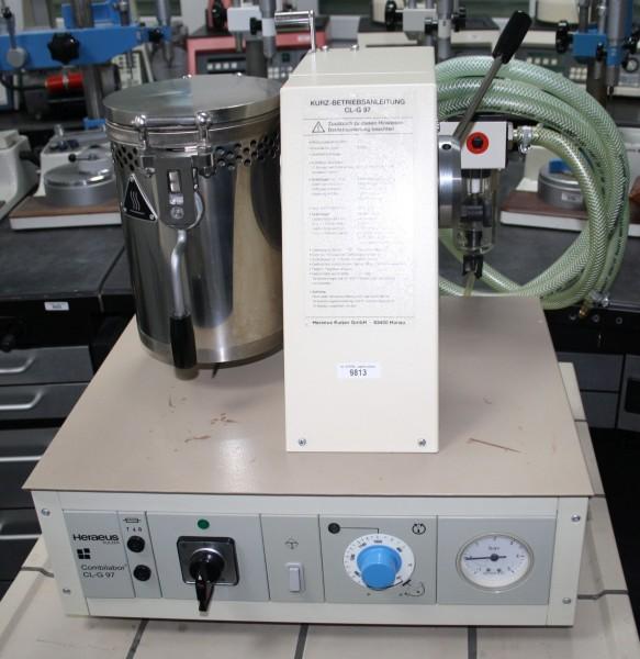 HERAEUS Vacuum-Druckgussgerät Combilabor CL-G-97 # 9813