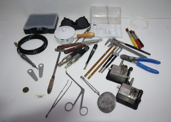 Dentallabor-Restposten diverse Werkzeuge # 12369