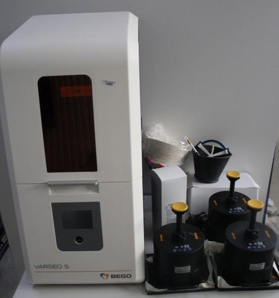BEGO VARSEO S 3D-Druck-System incl. umfangreichem Zubehör # 14082