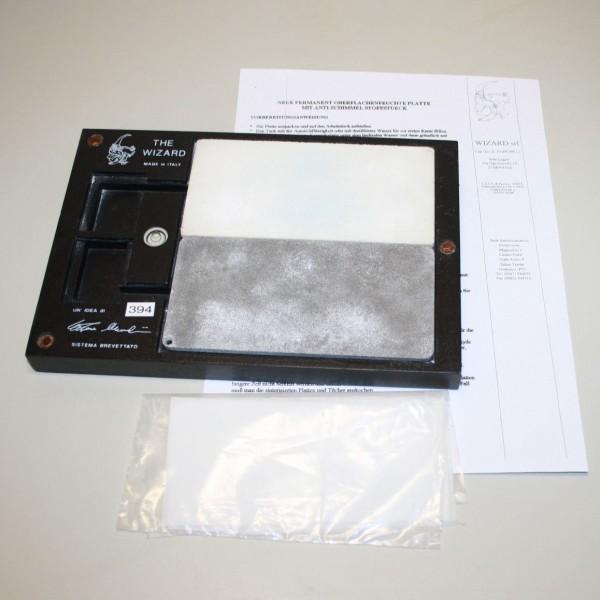 Permanent Oberflächenfeuchte Platte / Anmischplatte # 394