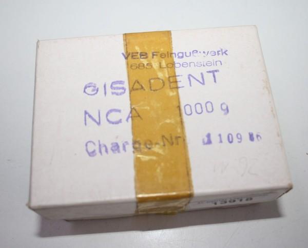 Gisadent NCA Nickel Chrom Alloy Modellgußlegierung # 13918