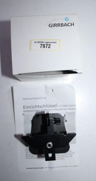 GIRRBACH Splitex Einrichtschlüssel # 7972