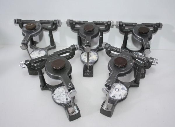 5 x SHOFU Handy Artikulatoren
