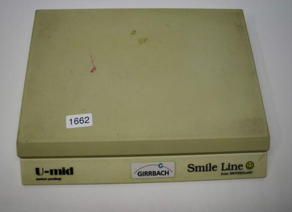 Permanent Oberflächenfeuchtplatte U-mid Smile Line # 1662